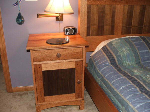 Becklass Complete Free Bed Woodworking Plans Night Stand